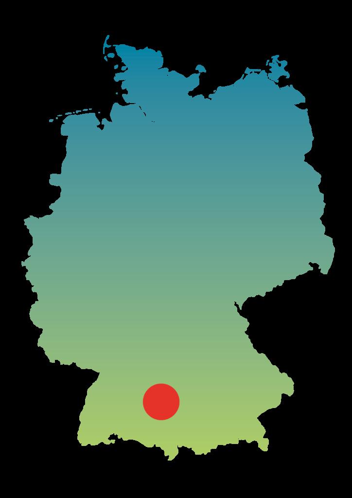 Karte Ulm
